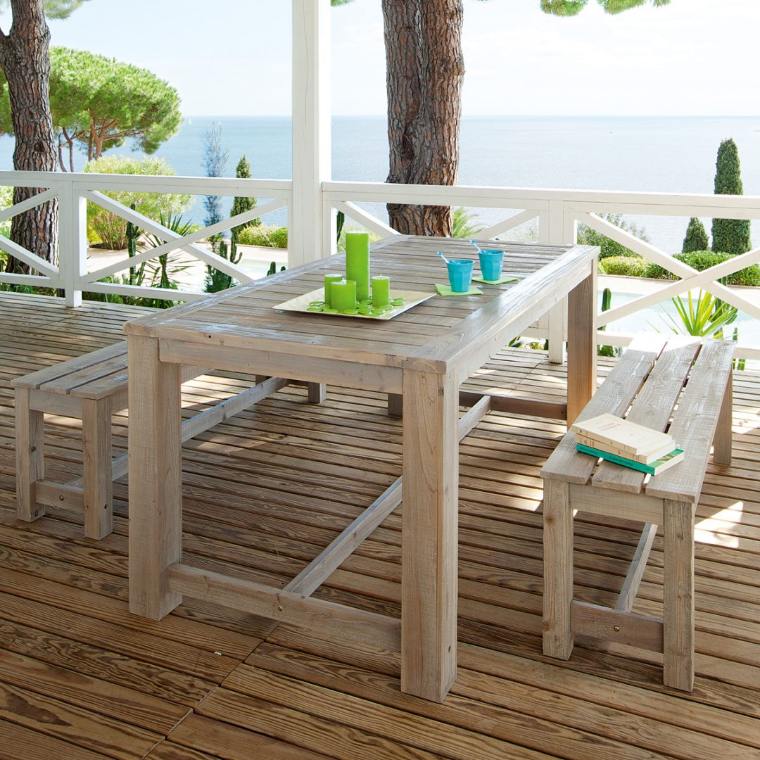 Galer a de im genes materiales para las mesas de terraza - Mesa para terraza ...