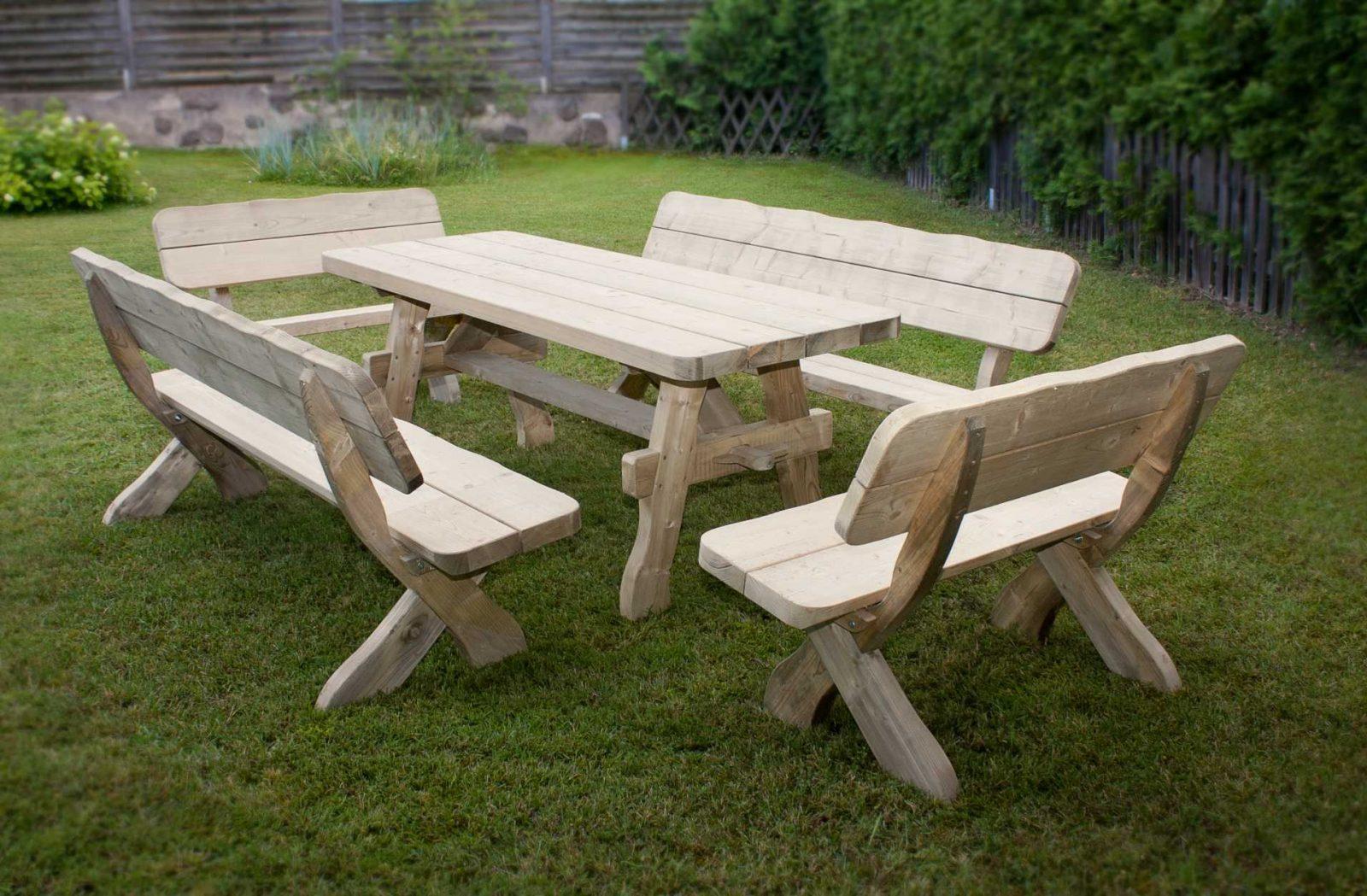 Mesa de terraza de madera natural Imgenes y fotos
